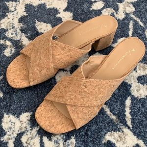 NWT size 12 cork sandals